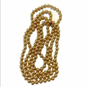 Gold Colored Pearl Beads